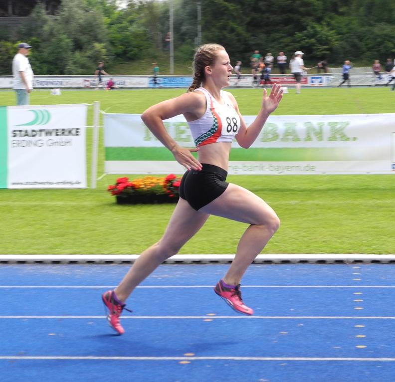 Nina Bauch in Aktion